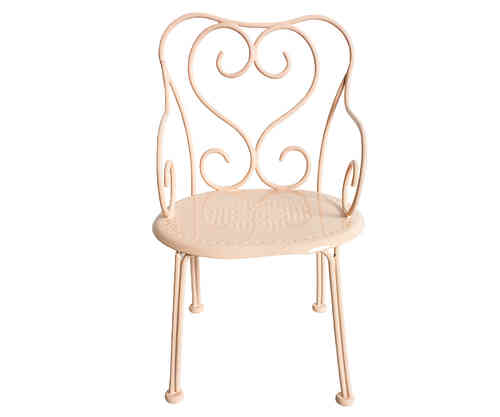 Tuoli, Romantic chair, powder, Maileg