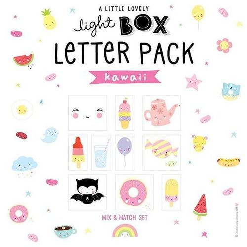 Lisäosat A Little Lovely Companyn lightboxeihin,  kawaii