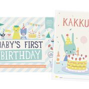 "Kortit, Milestone ""Baby's first birthday"""