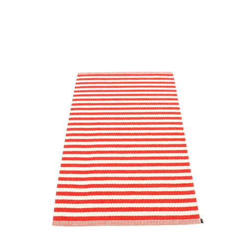 Pappelina DUO matto  - coral red - Koko: 85x160cm