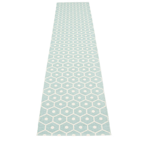 Pappelina HONEY matto  - pale turquoise - Koko: 70x350cm
