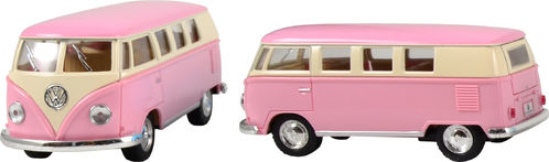 Bussi, VW Classic Pastel, vaaleanpunainen